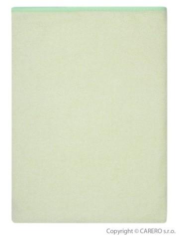 Nepremokavá podložka Akuku froté 70x50 - zelená