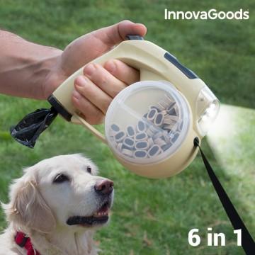 Lesă retractabilă pentru câini 6în1 InnovaGoods