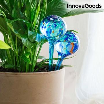 Skleněná zalévací koule InnovaGoods 2 ks