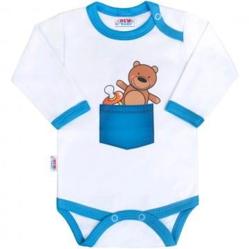 Body s potlačou New Baby medvedík vo vrecku