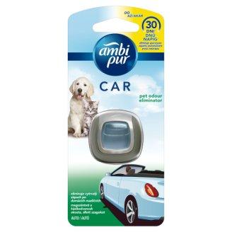 Ambi Pur CAR - osvěžovač do auta eliminující pachy zvířat - strojek 2ml
