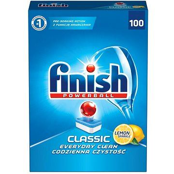 Finish Tablety do myčky - Powerball Classic lemon - 100 tablet