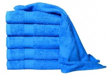 Froté ručník, 50x100 cm - modrý