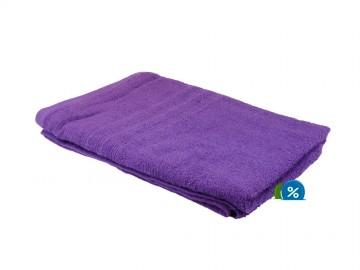 Prosop de corp plușat, 70x140 cm - violet