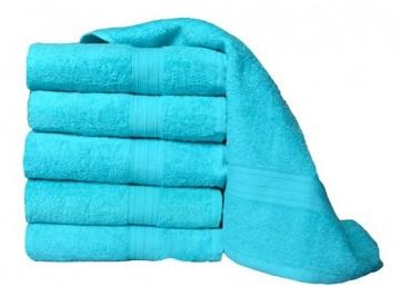 Froté ručník, 50x100 cm - tyrkysový