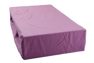 Jersey lepedő 90x200 cm - bogáncs lila