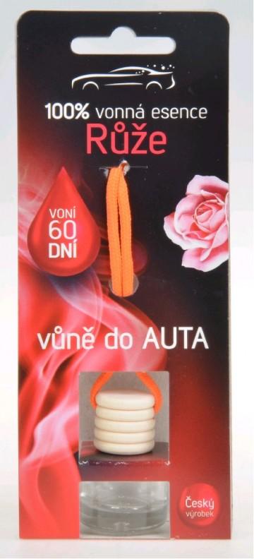 Osvěžovač do auta - růže, 5 ml