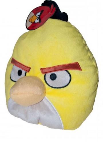 Polštářek Angry Birds žlutý Chuck 25 cm