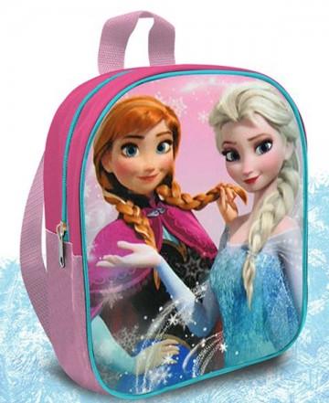 Dětský batůžek Ledové Království Anna a Elsa růžový 24 cm