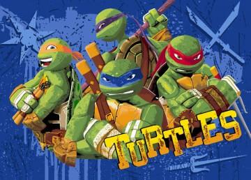 Dětský koberec Želvy Ninja Tough Turtles 95/133