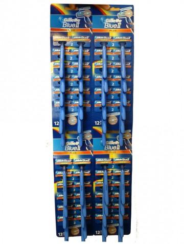 Gillette Blue-II Plus Razors 24x24