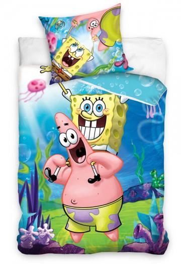 Povlečení SpongeBob a Patrik 140/200, 70/80