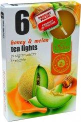 Čajové svíčky 6 kusů –  Med a meloun