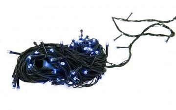 Žiarovky na stromček - 50LED 5m s napájením na 3x AA baterie - bílá