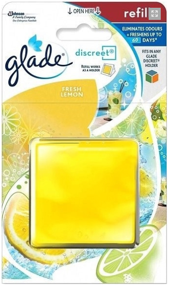 Glade Discreet náplň Svěží citrus 8 g