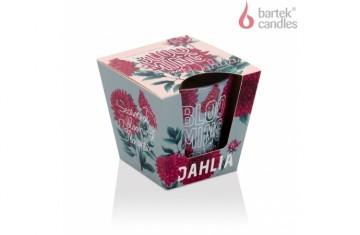 Vonná svíčka ve skle – blooming season Dahlia 115g