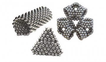 Set 216 bilute magnetice, diametru 5mm