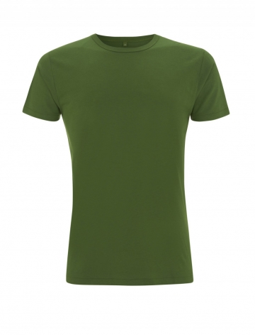 Pánské bambusové tričko, klasický střih - zelená, 1 ks - velikost L