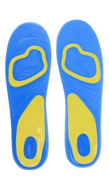 Gelové vložky do bot pro každodenní použití, 1 pár, velikost 42-48