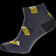 Ponožky Pivo13, nízké - 1 pár, velikost 39-42