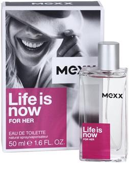 Mexx Life is Now for Her - toaletní voda pro ženy, 15 ml