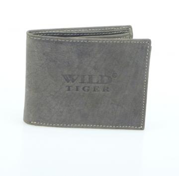 Pánska peňaženka Wild Tiger - hnedá bez cvočku [950]