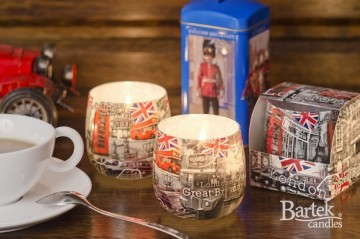 Lumânare parfumată în pahar - Londra, 100g