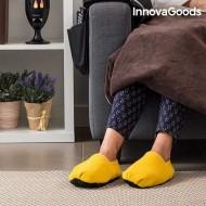Nahřívací bačkory do mikrovlnné trouby InnovaGoods - žluté