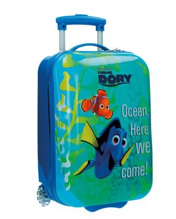 Cestovní kufr ABS Hledá se Dory 48 cm