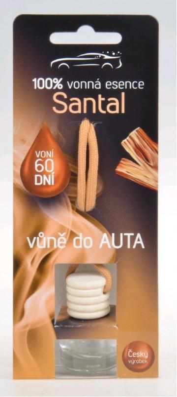 Osvěžovač do auta - santalové dřevo, 5 ml