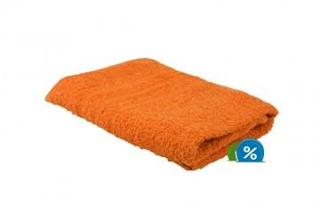 Froté ručník, 50x100 cm - oranžový