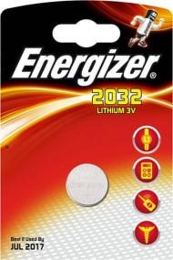 Energizer CR2032 3V - lithiová baterie, 1ks
