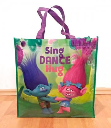 Dětská nákupní taška Trollové Poppy a Větvík