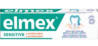Zubní pasta na citlivé zuby elmex® SENSITIVE