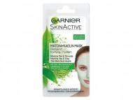 Čistící pleťová maska Garnier Matcha + Kaolin, 8ml