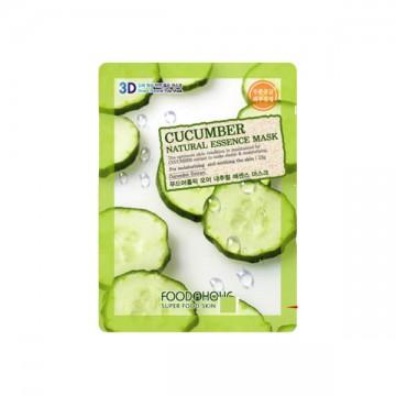 Pleťová maska FoodAholic s přírodními esencemi - okurka, 23g