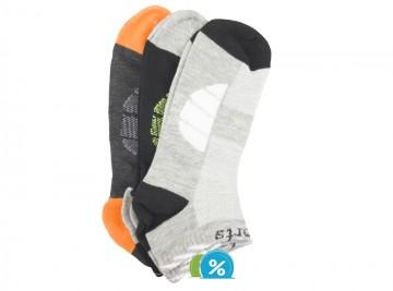 Pánské kotníkové bavlněné ponožky Pesail LM215 - 3 páry, velikost 40-43