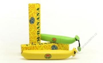 Um-Banana deštník ve tvaru banánu - žlutý