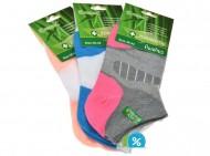 Dámské bambusové zdravotní kotníkové ponožky Pesail XW2644 - 3 páry, velikost 35-38