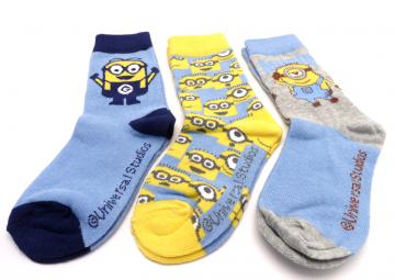 Ponožky - Mimoň - PH4743-1 - velikost 27-30 cena za 3 páry