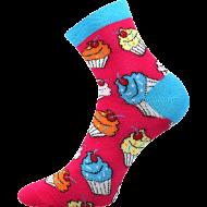 Ponožky - Zmrzlina - velikost 43-46