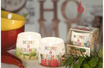 Lumânare aromată în pahar - Home & kitchen, 100g