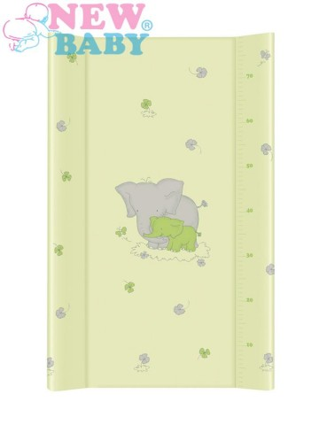 Prebaľovací nadstavec New Baby Sloník zelený 50x80cm