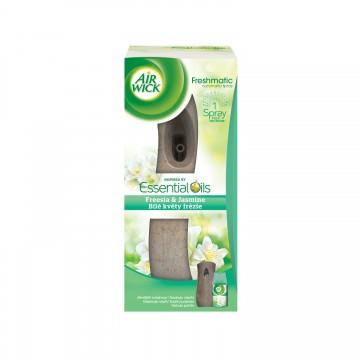 Air Wick Freshmatic osvěžovač vzduchu, hnědý + náplň - Bílé květy frézie, 250ml