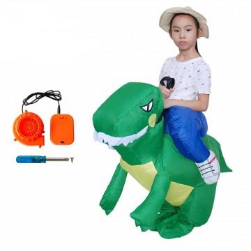 Karnevalový nafukovací kostým dinosaurus pro děti