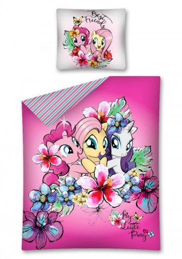 Povlečení My Little Pony růžová 140/200, 70/80