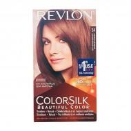 Barva bez amoniaku Colorsilk Revlon - Světlá zlatohnědá, Nº 54