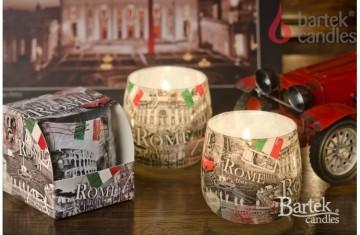 Vonná svíčka ve skle - Řím, 100g