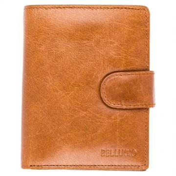 Pánská peněženka Bellugio - světle hnědá [947]
