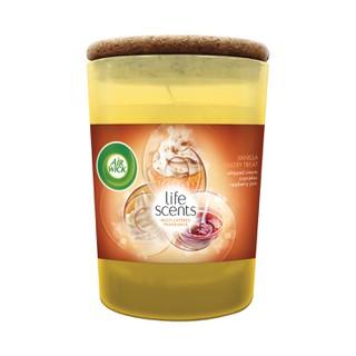 Vonná svíčka ve skle -  Air Wick- Life Scents -vanilkové pečivo – 185g